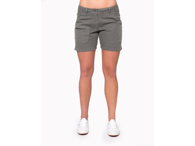 Varg W's Båstad Canvas Shorts Grey